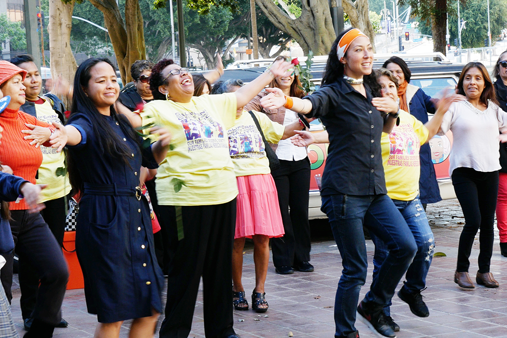 A know-your-rights dance that narrates the history and movement of domestic workers.